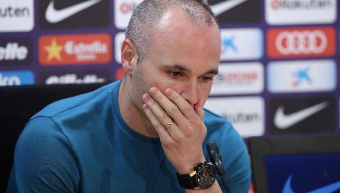 Injesta pēc 22 gadiem pamet 'FC Barcelona'
