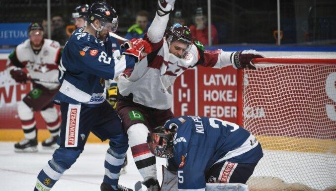 Сборная Латвии в Риге с сухим счетом проиграла финнам