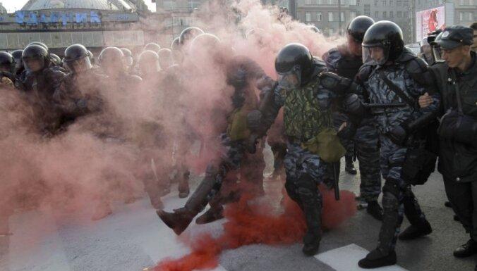 """""""Марш миллионов"""" в Москве закончился беспорядками: сотни задержанных"""