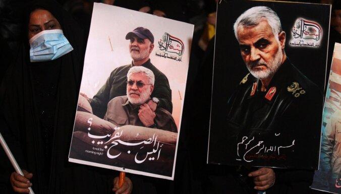 Irāka seko Irānai: arī izdod orderi Trampa aizturēšanai