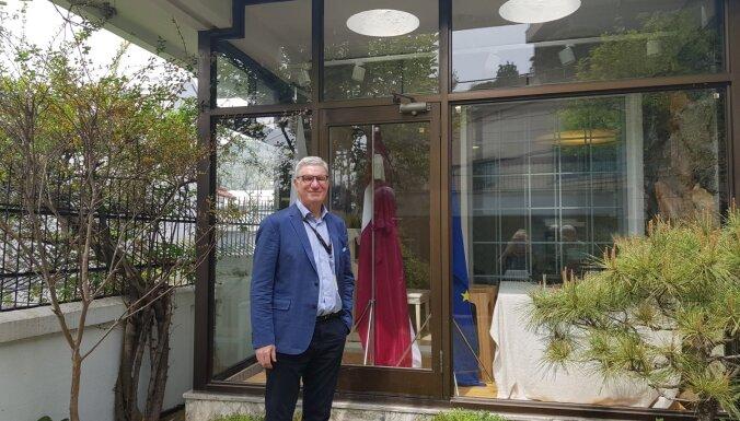 Intervija ar vēstnieku: Korejā ciena spēku; Krievijai te spēcīgi muskuļi