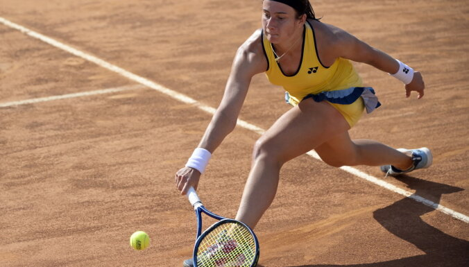 WTA turnīrs Melburnā: Sevastova piekāpjas rumānietei Bogdanai