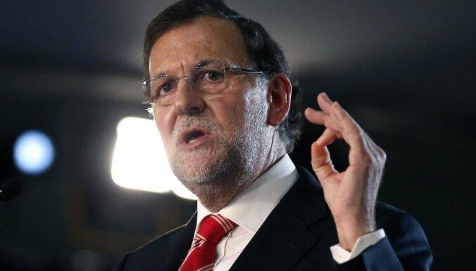 Spānijas premjers: neļaušu apdraudēt Spānijas vienotību