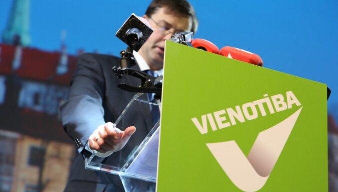 No EP iekļuvušajām partijām visvairāk reklāmai tērējusi 'Vienotība'
