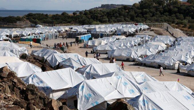 Migrantu nometnē Grieķijā aizturēts 'Daesh' loceklis