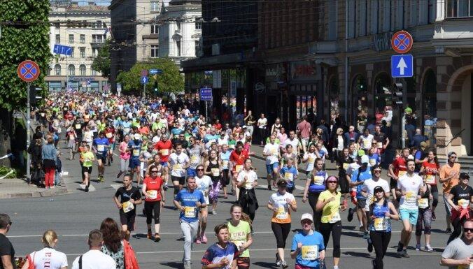 Из-за воров сотни участников Рижского марафона остались без медалей