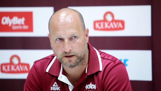 Štelmahers līdz pēdējam brīdim neatklās Latvijas izlases sastāvu izšķirošajam mačam pret Bulgāriju
