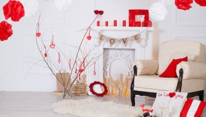 ФОТО. Как украсить дом ко дню Святого Валентина