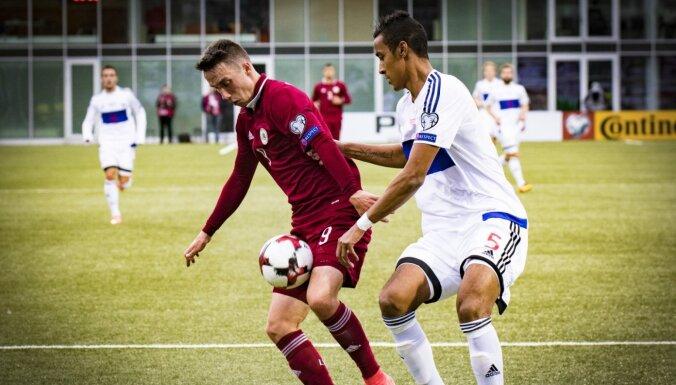 Latvijas futbolisti uzzinājuši pretiniekus Nāciju līgā
