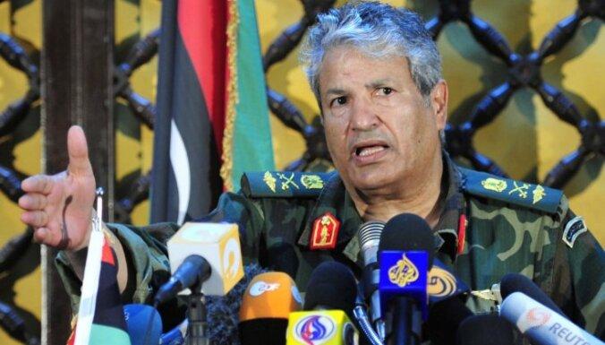 Lībijas opozīcija: komandieris Juniss ir miris; iespējams, spēlējis dubultu spēli