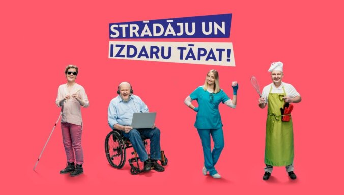 Aicina uz diskusiju par iekļaujošu nodarbinātību cilvēkiem ar invaliditāti. Ieraksts.