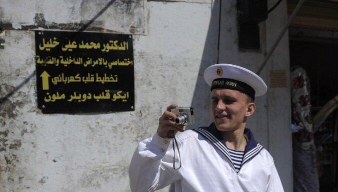 Минобороны РФ: база в сирийском Тартусе продолжает работать