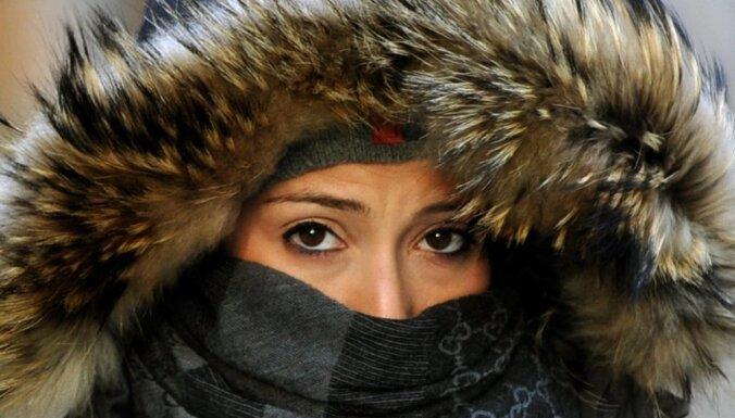 В Даугавпилсе этим утром было -6,6 градусов, установлен новый рекорд