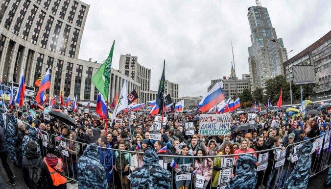 """""""Мы опять здесь"""": как в Москве прошел крупнейший митинг с 2011 года"""