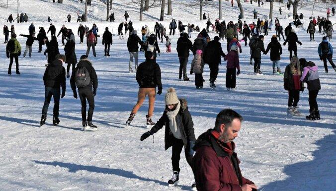 Ūdenstilpes Rīgā, pa kuru ledu vēl var staigāt