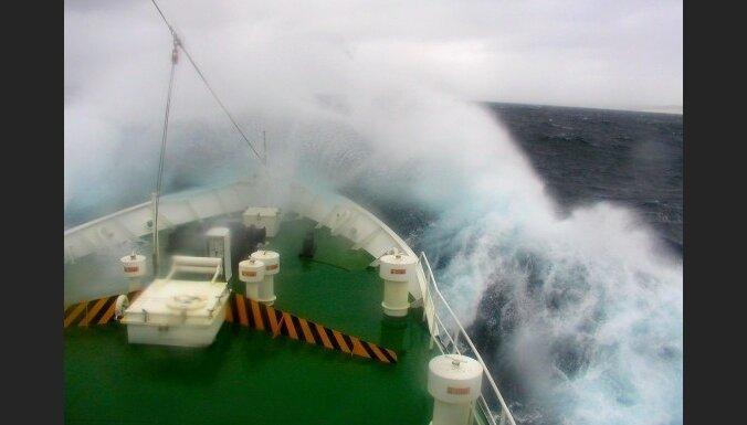 В Азовском море затонул грузинский сухогруз