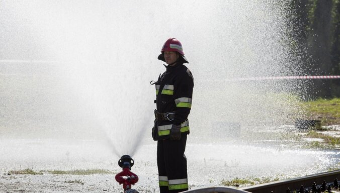 Otrdien Saldū ugunsgrēkā gājis bojā cilvēks