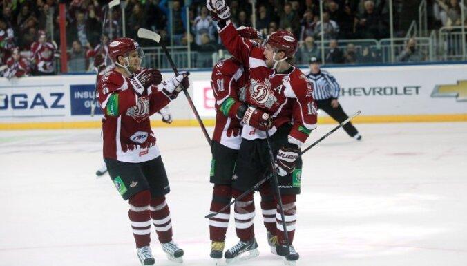 Rīgas 'Dinamo' aizvada otro Gagarina kausa spēli Doņeckā