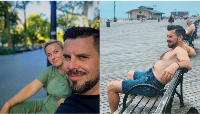 Privāti kadri: Busuļa un viņa mīļotās Ingas piedzīvojumi Ņujorkā