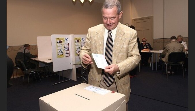 Лембергс выиграл выборы в родном Вентспилсе