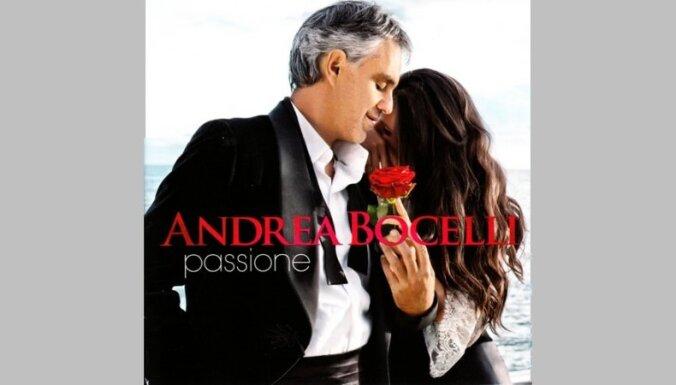 Laista klajā Andrea Bočelli dziesmu izlase 'Passione'