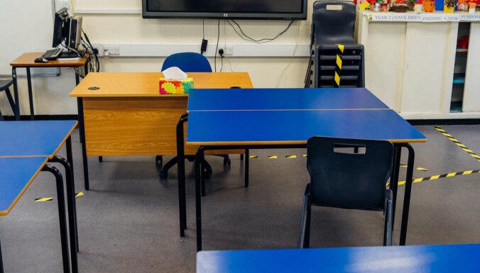Класс — закрытая община. 82% школ Латвии выбрали очное обучение, часть — вечерние смены