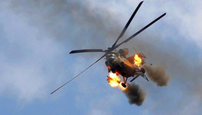 Uzlidojumos pie Irākas-Sīrijas robežas nogalina vairāk nekā 100 džihādistu