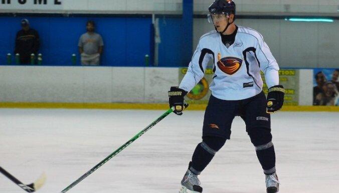 Kuldas pārstāvētā 'Jets' piekāpjas 'Bruins' hokejistiem