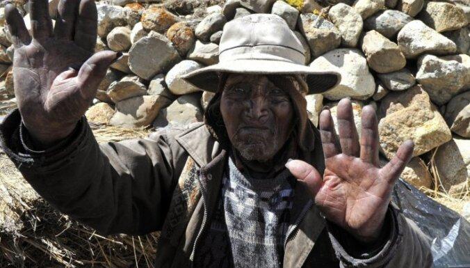 Fotoreportāža: bolīvietis, kurš apgalvo, ka ir vecākais pasaulē