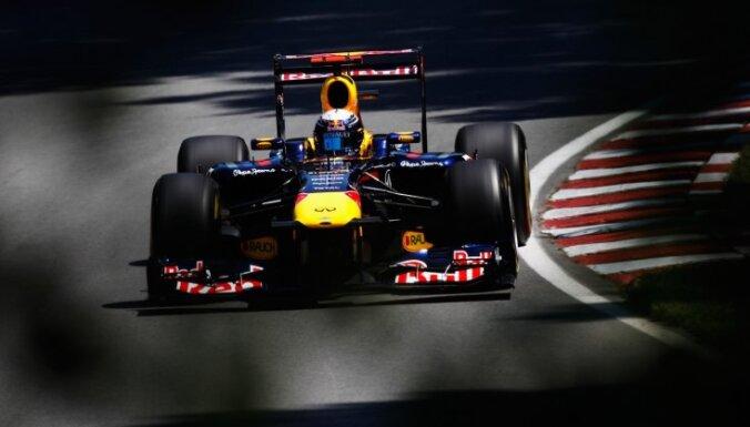 Pēdējā treniņā pirms kvalifikācijas ātrākie 'Red Bull' piloti