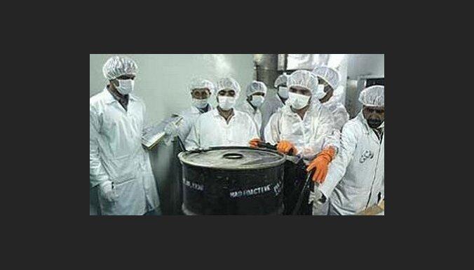 IAEA: Irāna sākusi uzstādīt jaunas urāna bagātināšanas centrifūgas