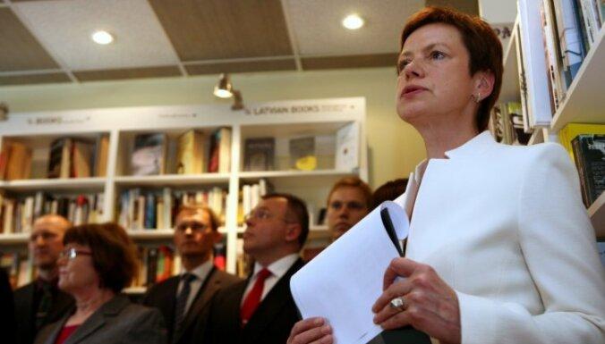 Элерте призвала сторонников декларироваться в Риге