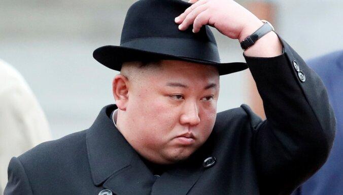 Пхеньян сообщил о военных учениях под руководством Ким Чен Ына