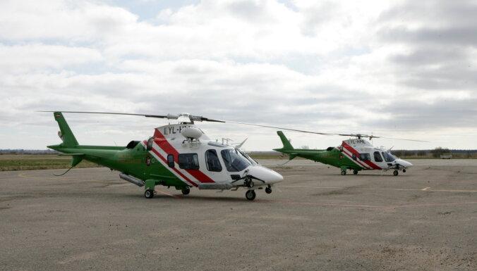 Латвийские пограничники получили новые вертолеты и катера