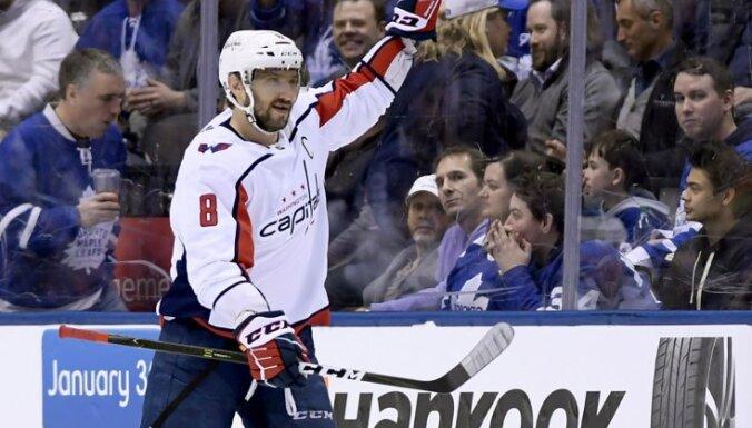 Ovečkins sasniedz Fjodorova iespēto un kļūst par dalīti rezultatīvāko krievu NHL