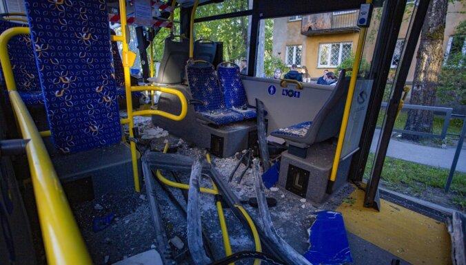 Авария с троллейбусом в Кенгарагсе: виновник был пьян