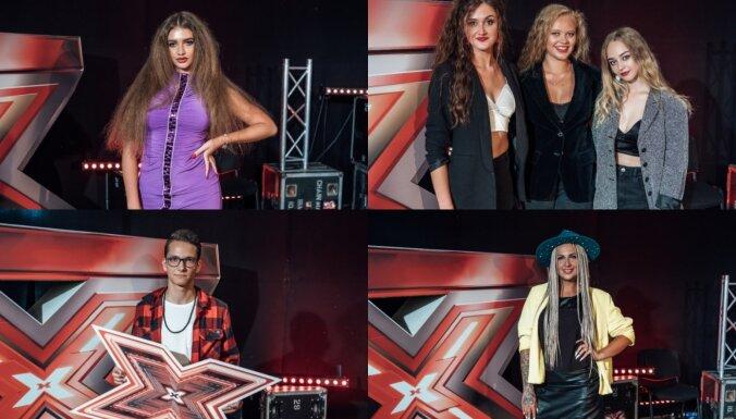 Foto: Kādi ļaudis tikuši pašmāju 'X Faktora' jaunajā sezonā