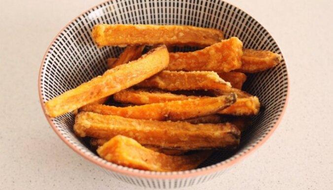 Сладкий картофель фри