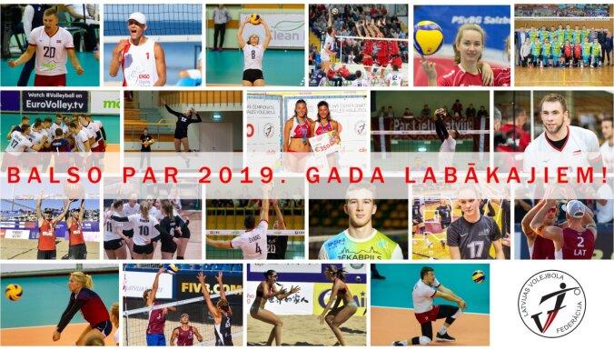 Sākusies balsošana par 2019. gada volejbolistiem, pludmales volejbolistiem un komandām