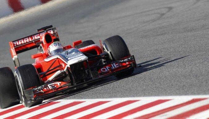 'Marussia' tiesājas ar 'Manor' F-1 komandu par savu firmas zīmi