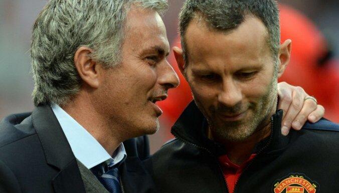 Jose Mourinho and Manchester United Ryan Giggs