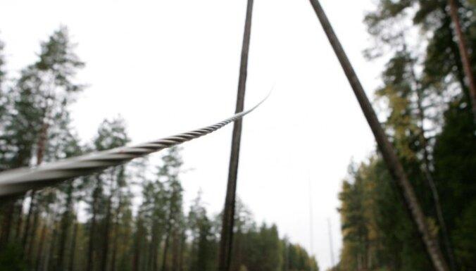 Novērsti visi negaisa radītie elektrotīkla bojājumi Latvijā