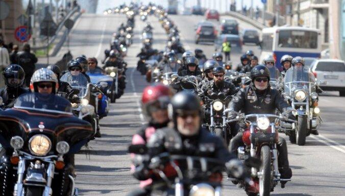 Sestdien Rīgas ielās atklās motosezonu