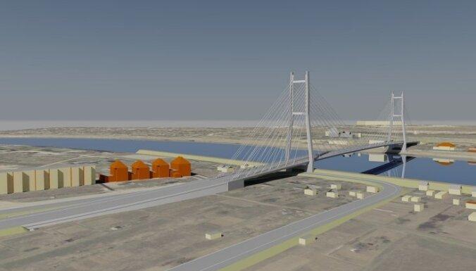 В Екабпилсе построят новый мост через Даугаву