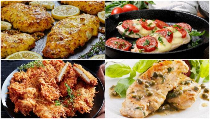 Vistas karbonādes – gan pannā, gan cepeškrāsnī ceptas: 13 receptes vakariņām