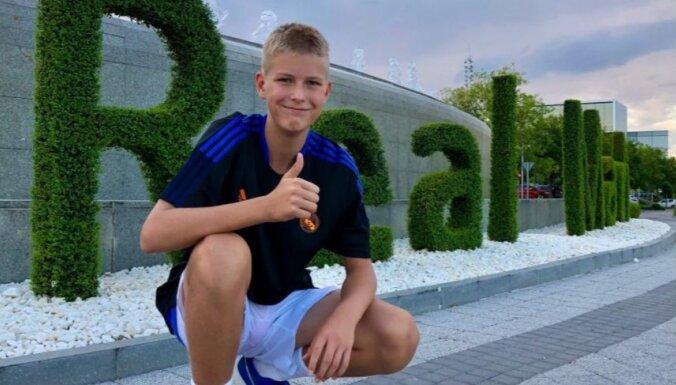 13 gadus vecs Latvijas basketbolists pievienojies Madrides 'Real' sistēmai