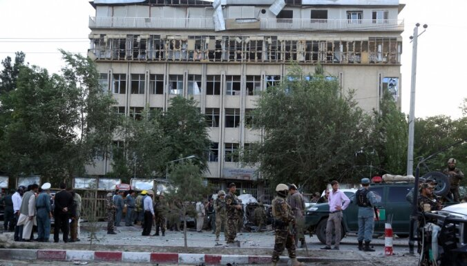 Взрыв в дипквартале Кабула: погибли 10 человек, более 60 ранены