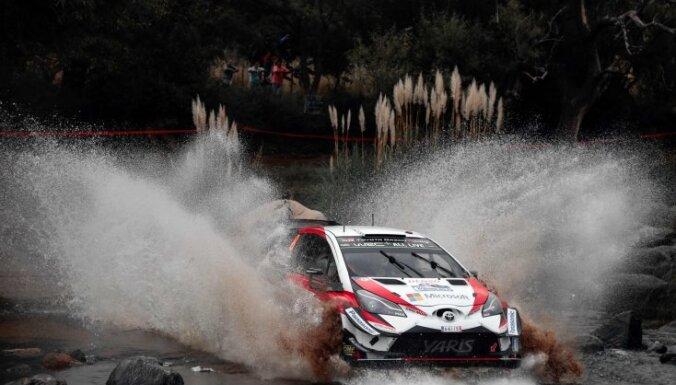 Igaunis Tanaks tiek pie savas trešās WRC uzvaras karjerā