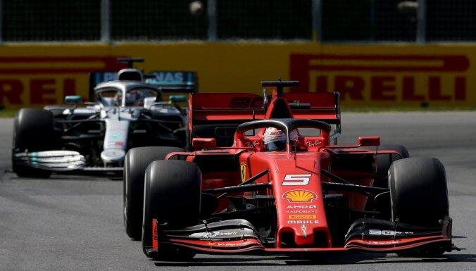 'Ferrari' apstrīd Hamiltona uzvaru Kanādas 'Grand Prix'