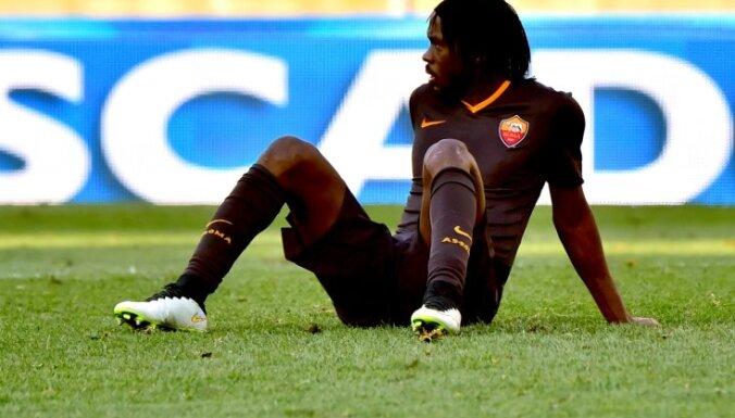 Roma s forward from Ivory Coast Gervinho